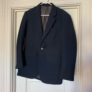 Other - Navy Suit Blazer with Gold Buttons